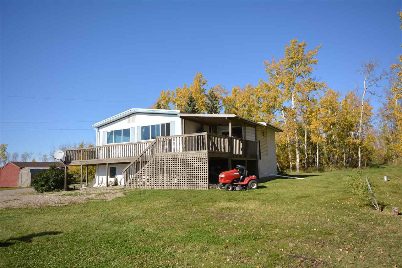Photo 2: Photos: 6220 FOREST LAWN FRONT Road in Fort St. John: Fort St. John - Rural E 100th Manufactured Home for sale (Fort St. John (Zone 60))  : MLS®# R2459857