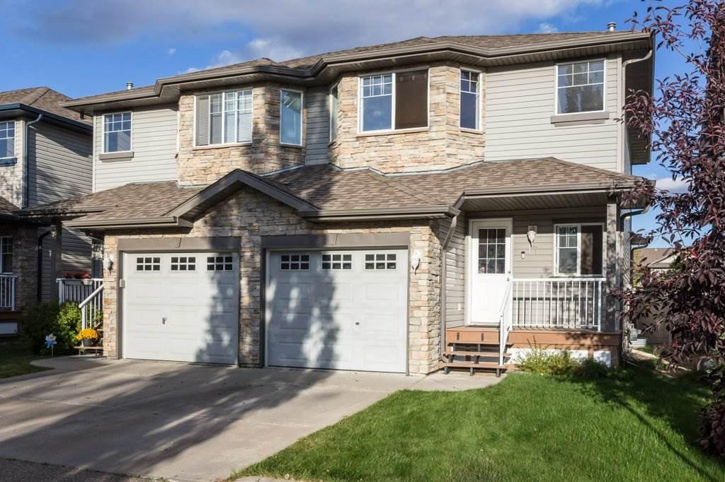 Main Photo: 17 6304 SANDIN Way in Edmonton: Zone 14 House Half Duplex for sale : MLS®# E4214065