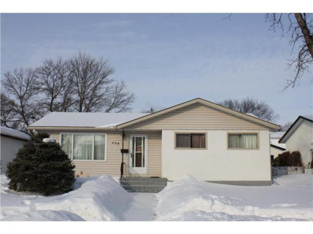 Main Photo: 204 ROUGE Road in WINNIPEG: Westwood / Crestview Residential for sale (West Winnipeg)  : MLS®# 1103744