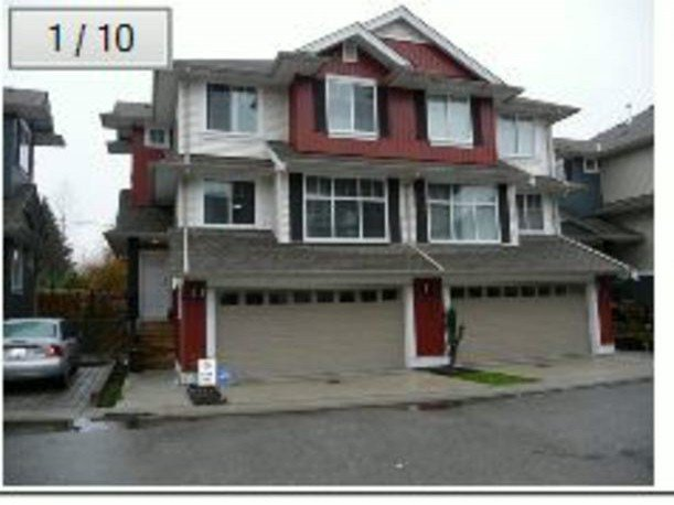 """Main Photo: 45 6956 193RD Street in Surrey: Clayton Townhouse for sale in """"""""EDGE"""""""" (Cloverdale)  : MLS®# F1413146"""