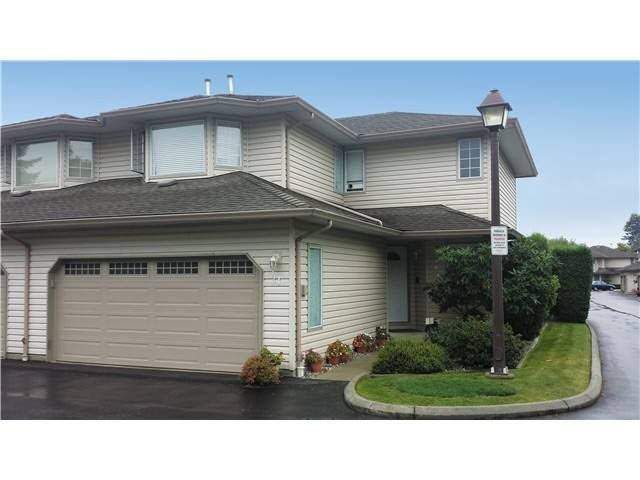 """Main Photo: 31 12268 189A Street in Pitt Meadows: Central Meadows Townhouse for sale in """"MEADOW LANE ESATES"""" : MLS®# V1094613"""