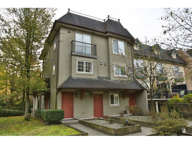 "Photo 1: Photos: 88 1561 BOOTH Avenue in Coquitlam: Maillardville Townhouse for sale in ""THE COURCELLES"" : MLS®# R2010267"