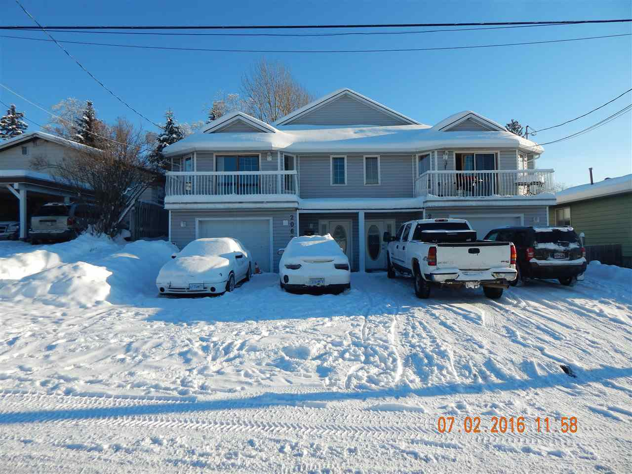 Main Photo: 2062 - 2066 QUINCE Street in Prince George: VLA House Duplex for sale (PG City Central (Zone 72))  : MLS®# R2023358
