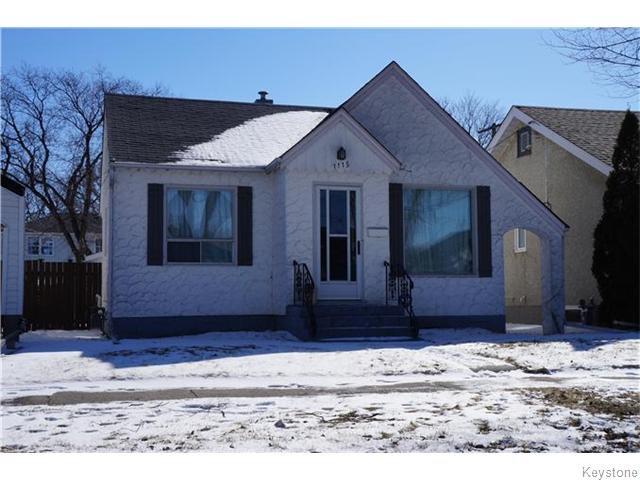 Main Photo: 1115 Spruce Street in Winnipeg: West End / Wolseley Residential for sale (West Winnipeg)  : MLS®# 1606852