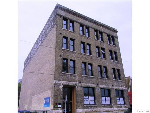Main Photo: 110 James Avenue in Winnipeg: Central Winnipeg Condominium for sale : MLS®# 1615861