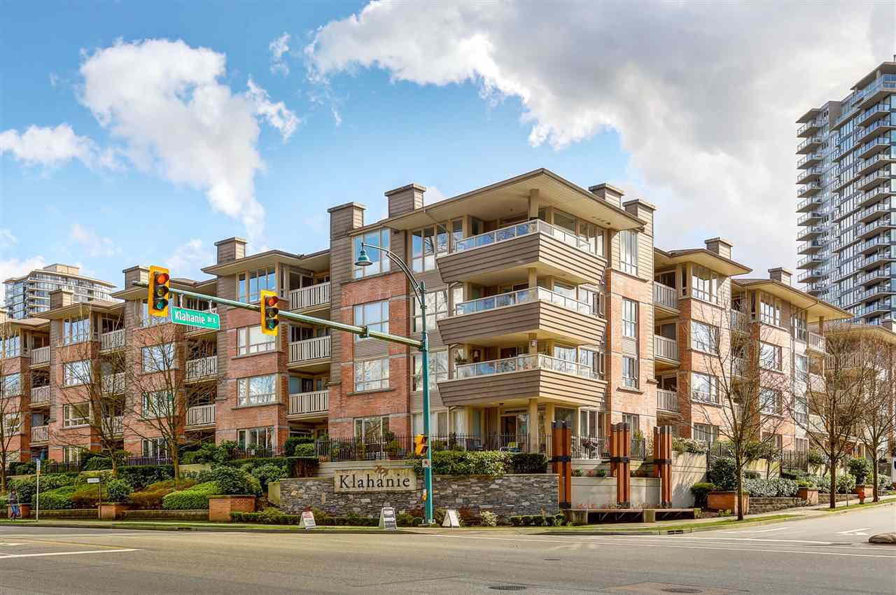 "Main Photo: 304 801 KLAHANIE Drive in Port Moody: Port Moody Centre Condo for sale in ""INGLENOOK"" : MLS®# R2105564"