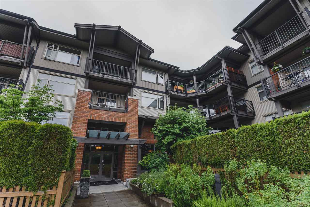 "Main Photo: 302 400 KLAHANIE Drive in Port Moody: Port Moody Centre Condo for sale in ""TIDES"" : MLS®# R2170542"