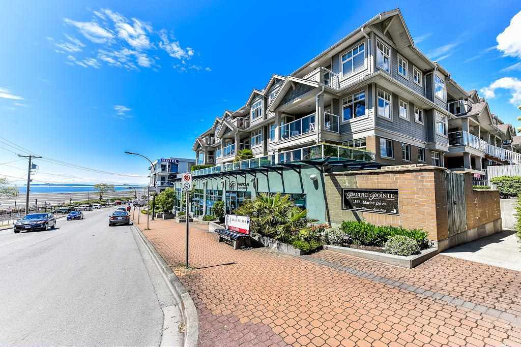 """Main Photo: 316 15621 MARINE Drive: White Rock Condo for sale in """"PACIFIC POINT"""" (South Surrey White Rock)  : MLS®# R2176683"""