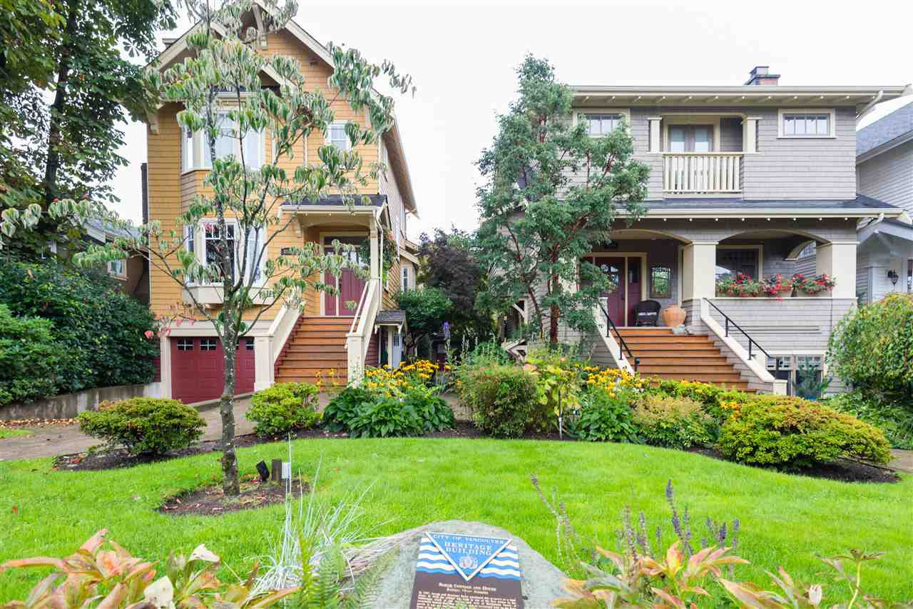 Main Photo: 3536 W 5TH Avenue in Vancouver: Kitsilano Townhouse for sale (Vancouver West)  : MLS®# R2409542