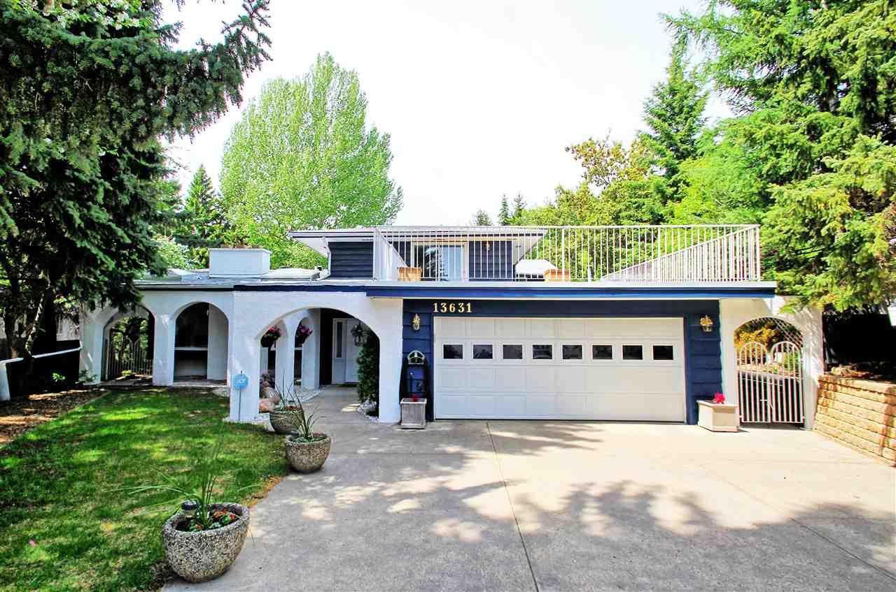 Main Photo: 13631 BUENA VISTA Road in Edmonton: Zone 10 House for sale : MLS®# E4197934