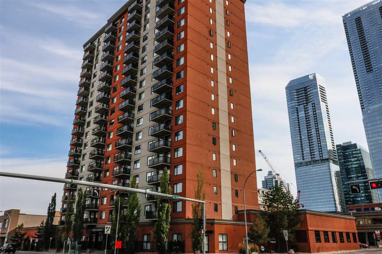 Main Photo: 1601 10303 105 Street in Edmonton: Zone 12 Condo for sale : MLS®# E4211500