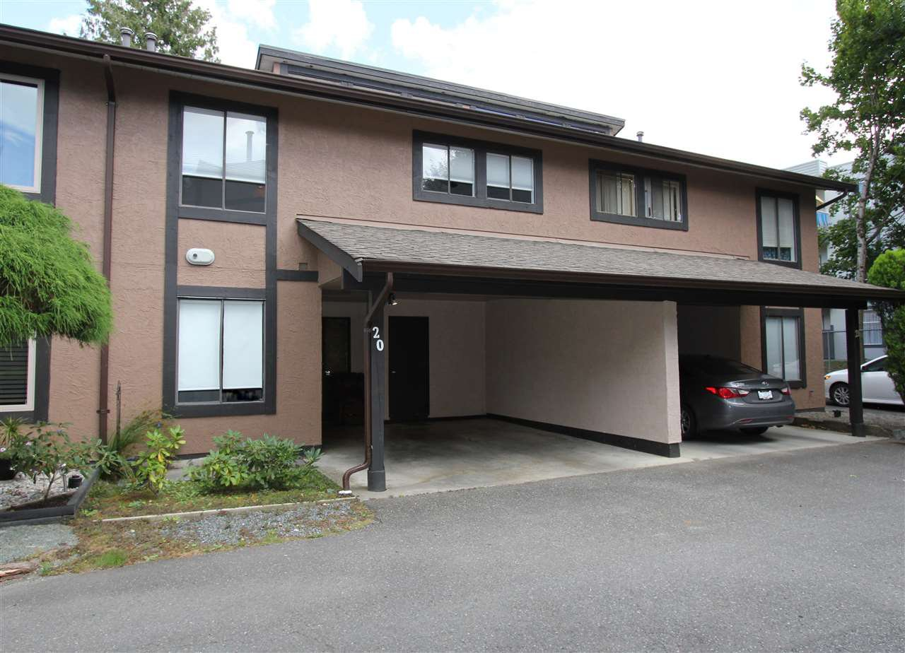 "Main Photo: 20 5840 VEDDER Road in Chilliwack: Vedder S Watson-Promontory Townhouse for sale in ""ROSEWOOD ESTATES"" (Sardis)  : MLS®# R2493898"