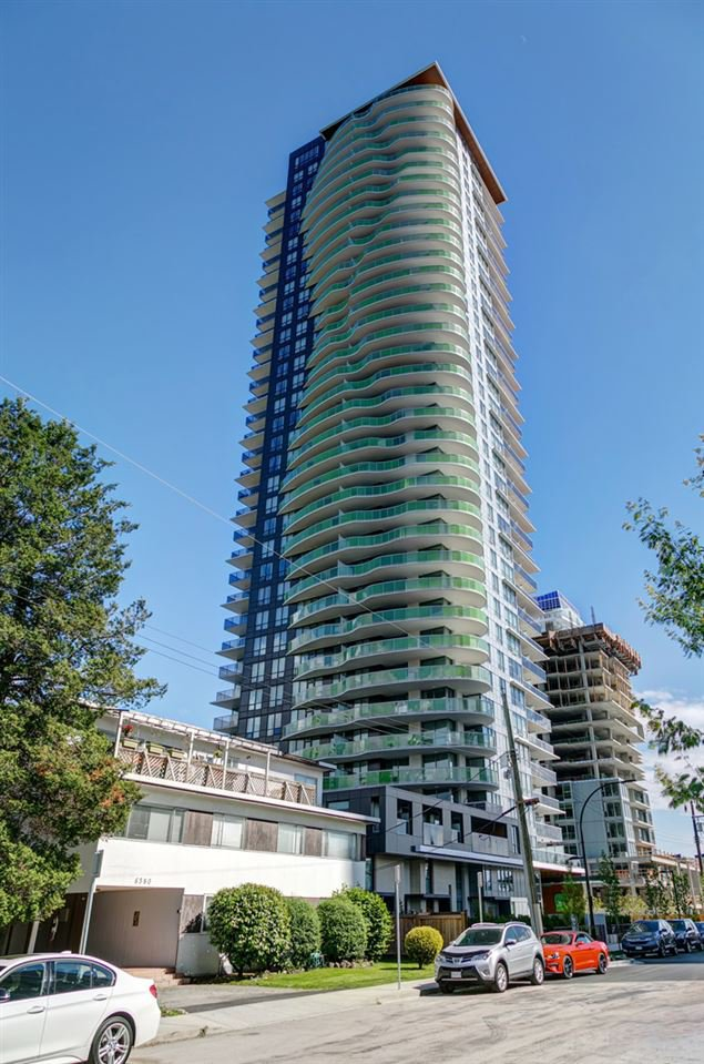 "Main Photo: 3001 6638 DUNBLANE Avenue in Burnaby: Metrotown Condo for sale in ""Midori by Polygon"" (Burnaby South)  : MLS®# R2525894"