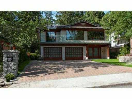 Main Photo: 6416 ROSEBERY Avenue in West Vancouver: Horseshoe Bay WV House for sale : MLS®# V869368