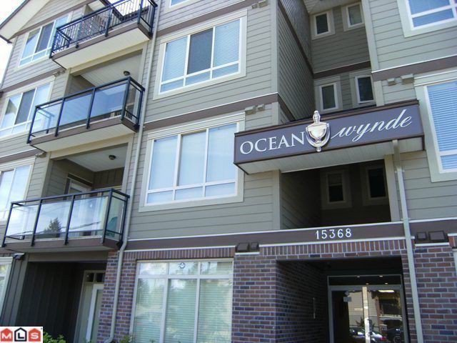 "Main Photo: 307 15368 17A Avenue in Surrey: King George Corridor Condo for sale in ""Ocean Wynde"" (South Surrey White Rock)  : MLS®# F1127499"