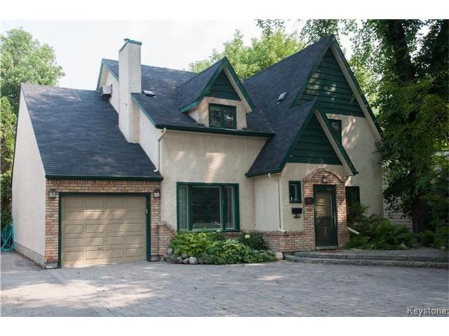 Main Photo: 241 Kingston Row in WINNIPEG: St Vital Residential for sale (South East Winnipeg)  : MLS®# 1428098