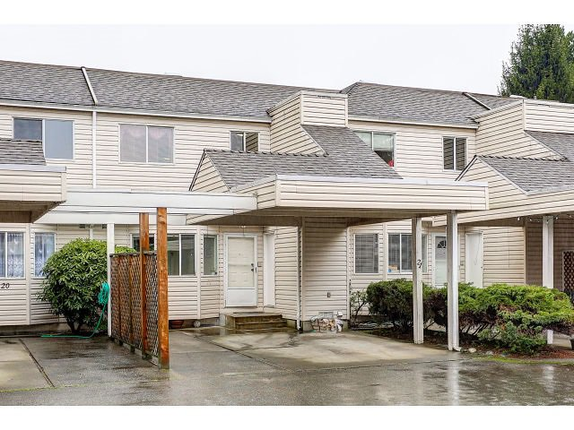 """Main Photo: 21 7560 138 Street in Surrey: East Newton Townhouse for sale in """"Parkside"""" : MLS®# R2028879"""