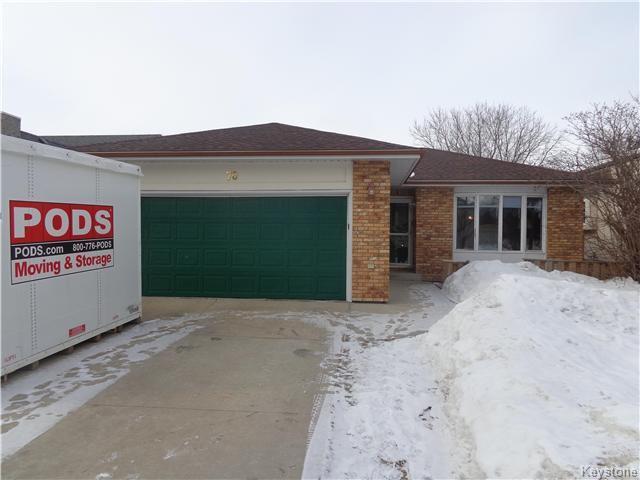 Main Photo: 70 Optimist Way in Winnipeg: Crestview Residential for sale (5H)  : MLS®# 1703906