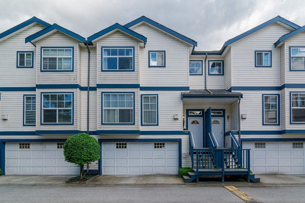 "Main Photo: 802 9118 149 Street in Surrey: Bear Creek Green Timbers Townhouse for sale in ""WILDWOOD GLEN"" : MLS®# R2176341"