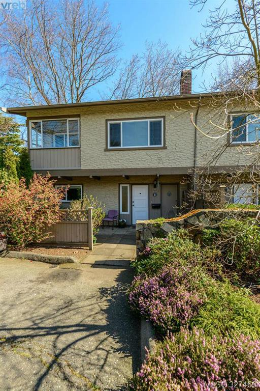 Main Photo: 1 1705 Feltham Road in VICTORIA: SE Lambrick Park Townhouse for sale (Saanich East)  : MLS®# 327469