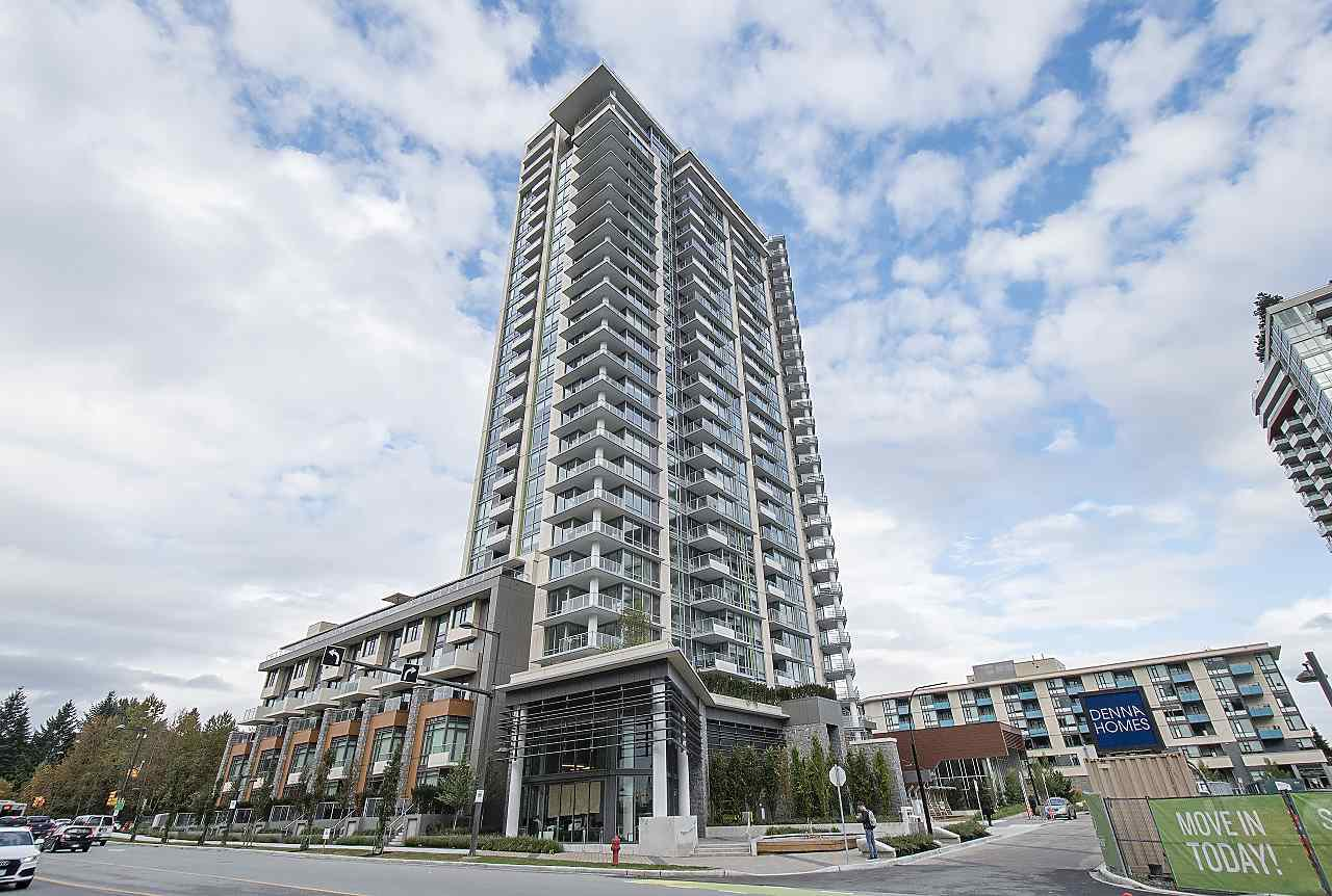 "Main Photo: 2204 680 SEYLYNN Crescent in North Vancouver: Lynnmour Condo for sale in ""COMPASS AT SEYLYNN VILLAGE"" : MLS®# R2342335"