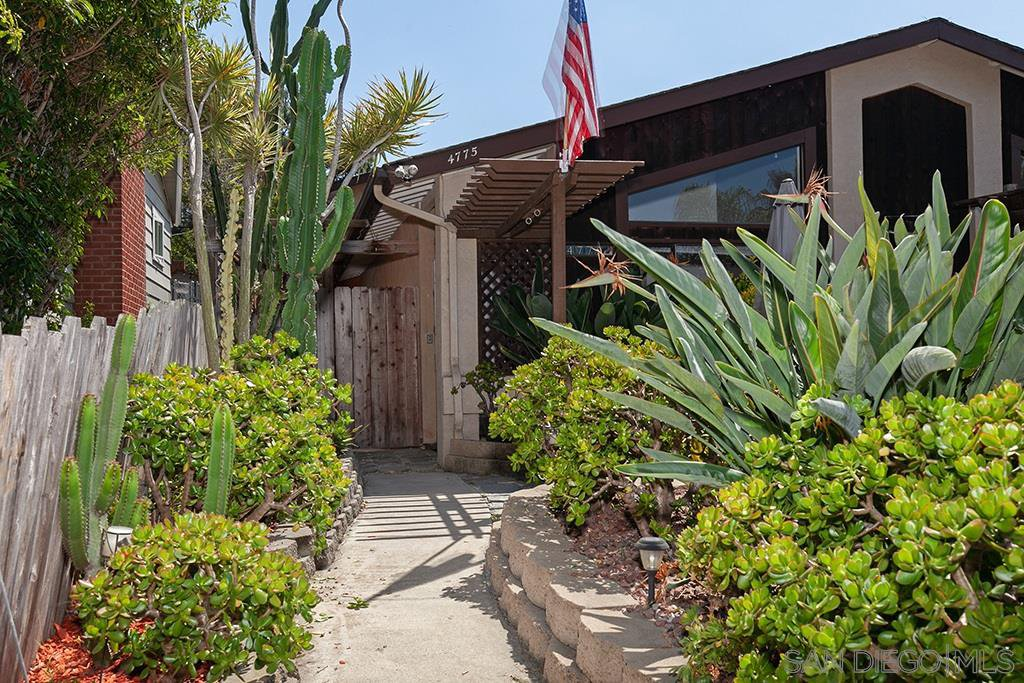 Main Photo: OCEAN BEACH House for sale : 4 bedrooms : 4775 Del Monte Ave in San Diego