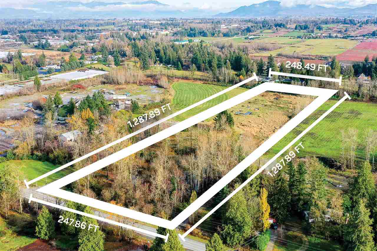 Main Photo: 2496 LEFEUVRE Road in Abbotsford: Aberdeen Land for sale : MLS®# R2518320