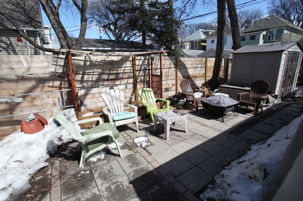 Photo 34: Photos: 513 Newman Street in Winnipeg: Wolseley Single Family Detached for sale (West Winnipeg)  : MLS®# 1307090