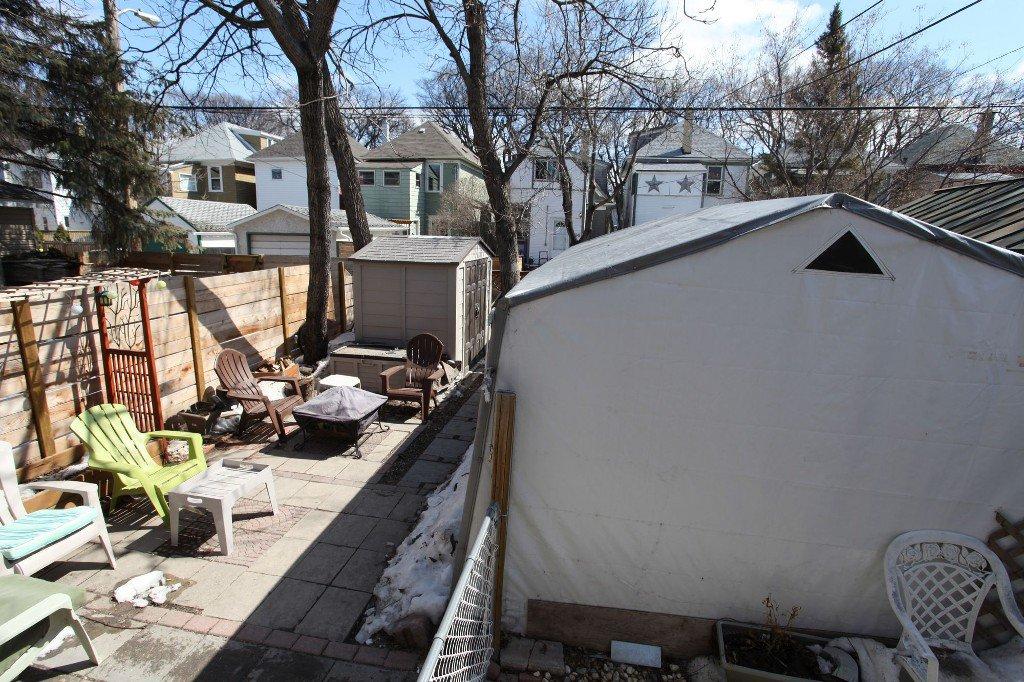 Photo 35: Photos: 513 Newman Street in Winnipeg: Wolseley Single Family Detached for sale (West Winnipeg)  : MLS®# 1307090