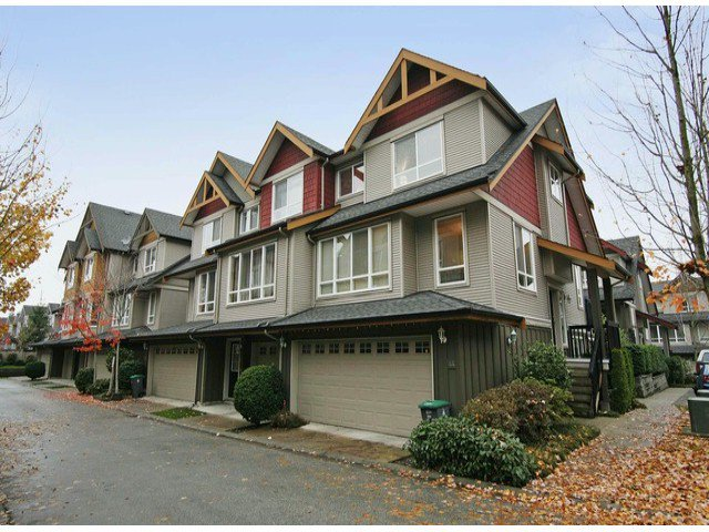 "Main Photo: 44 16789 60TH Avenue in Surrey: Cloverdale BC Townhouse for sale in ""LAREDO"" (Cloverdale)  : MLS®# F1324854"