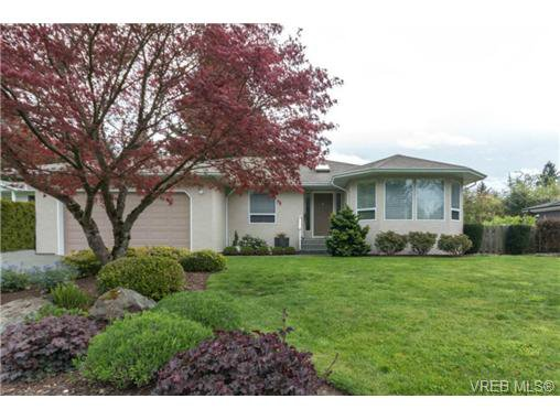 Main Photo: 6247 Rodolph Rd in VICTORIA: CS Tanner Single Family Detached for sale (Central Saanich)  : MLS®# 728007