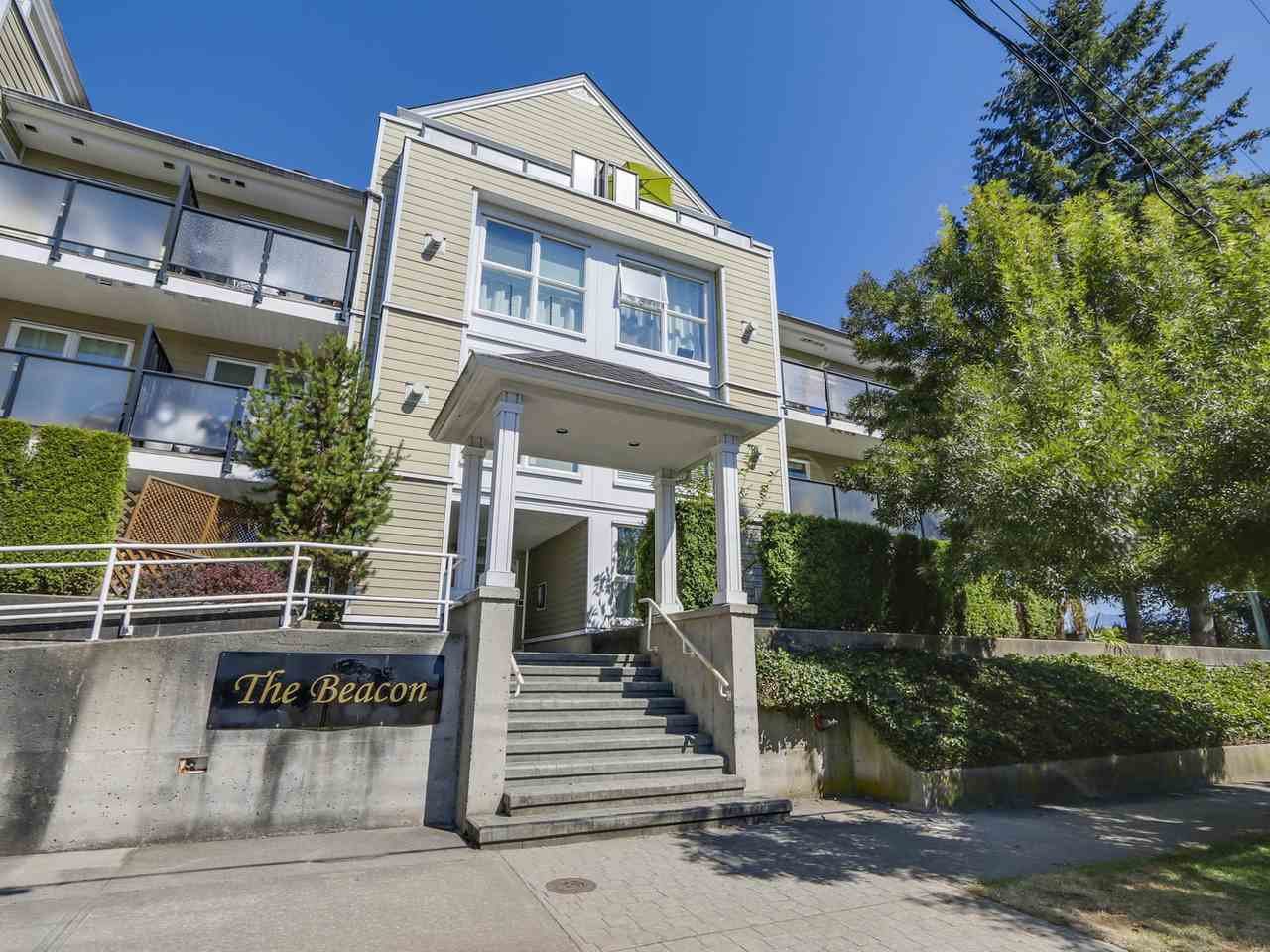 "Main Photo: 206 1519 GRANT Avenue in Port Coquitlam: Glenwood PQ Condo for sale in ""THE BEACON"" : MLS®# R2101185"
