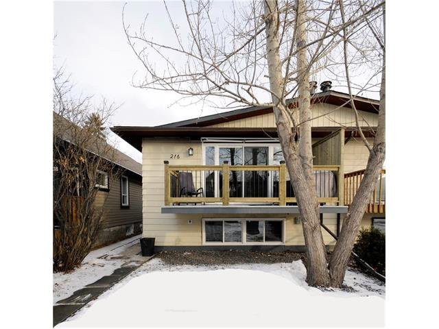 Main Photo: 216 15 Street NW in Calgary: Hillhurst House for sale : MLS®# C4096075