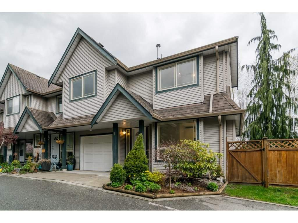Main Photo: 1 22980 ABERNETHY Lane in Maple Ridge: East Central Townhouse for sale : MLS®# R2156977
