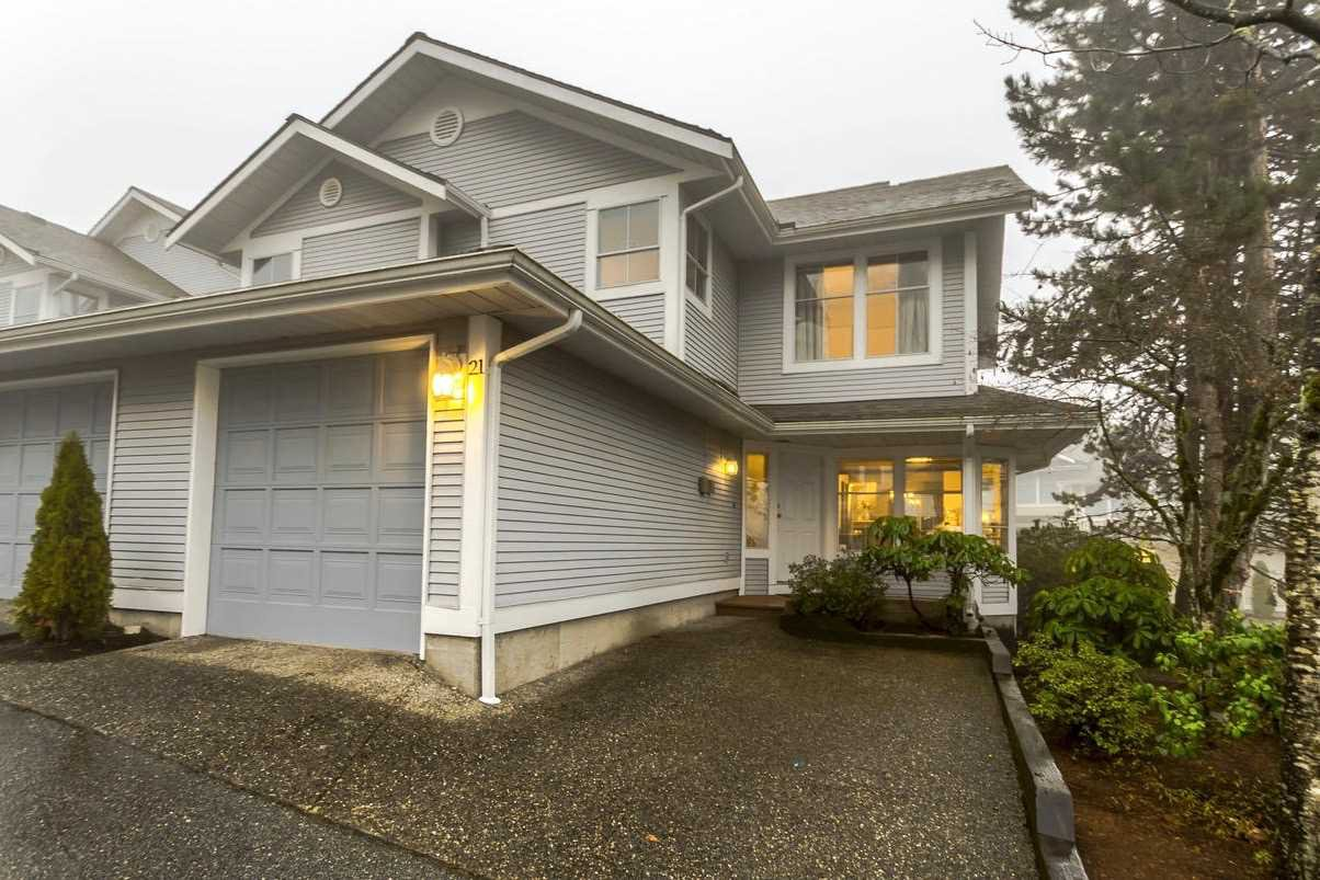 """Main Photo: 21 2590 PANORAMA Drive in Coquitlam: Westwood Plateau Townhouse for sale in """"BUCKINGHAM COURT"""" : MLS®# R2231935"""