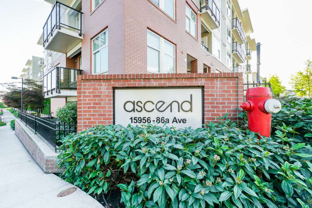 "Main Photo: 113 15956 86A Avenue in Surrey: Fleetwood Tynehead Condo for sale in ""ASCEND"" : MLS®# R2302925"