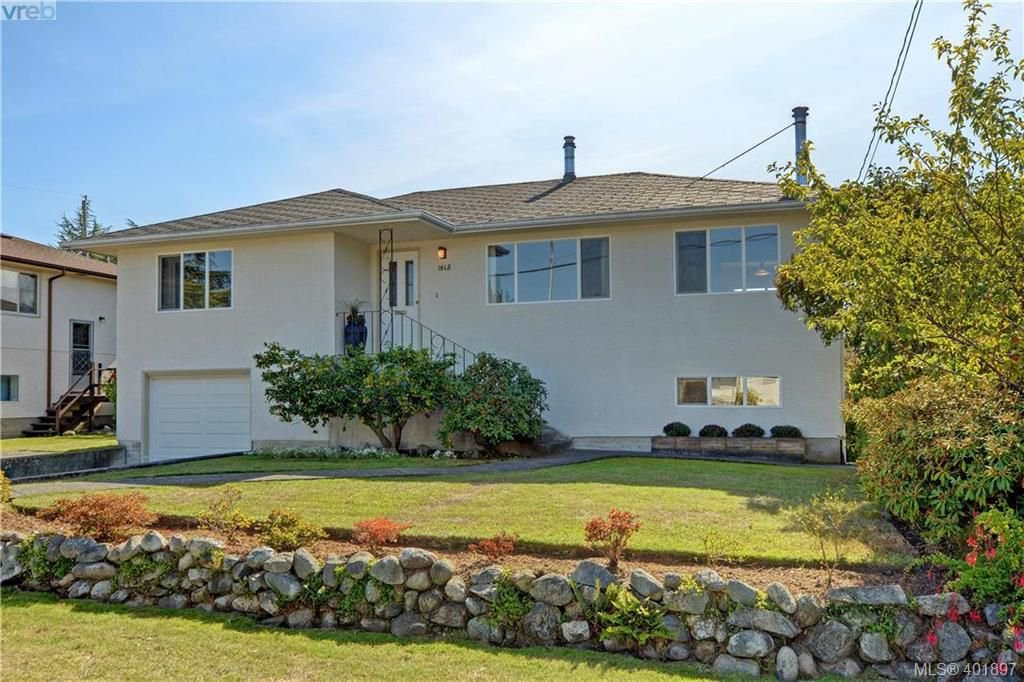 Main Photo: 1615 Sheridan Ave in VICTORIA: SE Mt Tolmie Single Family Detached for sale (Saanich East)  : MLS®# 802020