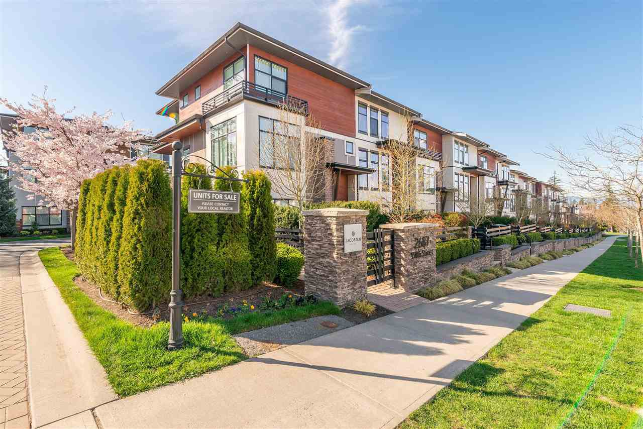 "Main Photo: 58 2687 158 Street in Surrey: Grandview Surrey Townhouse for sale in ""Jacobsen"" (South Surrey White Rock)  : MLS®# R2354366"