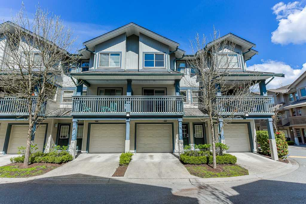 "Main Photo: 27 19250 65 Avenue in Surrey: Clayton Townhouse for sale in ""Sunberry Court"" (Cloverdale)  : MLS®# R2359782"