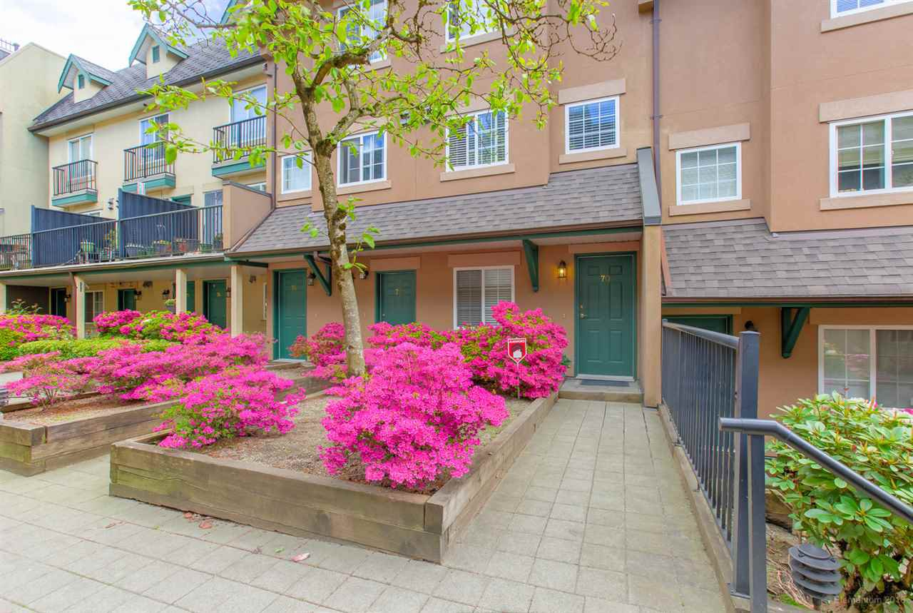 Main Photo: 70 1561 BOOTH Avenue in Coquitlam: Maillardville Townhouse for sale : MLS®# R2363581