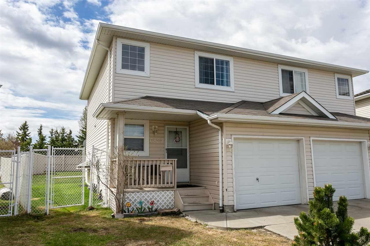 Main Photo: 6829 159A Avenue in Edmonton: Zone 28 House Half Duplex for sale : MLS®# E4155661