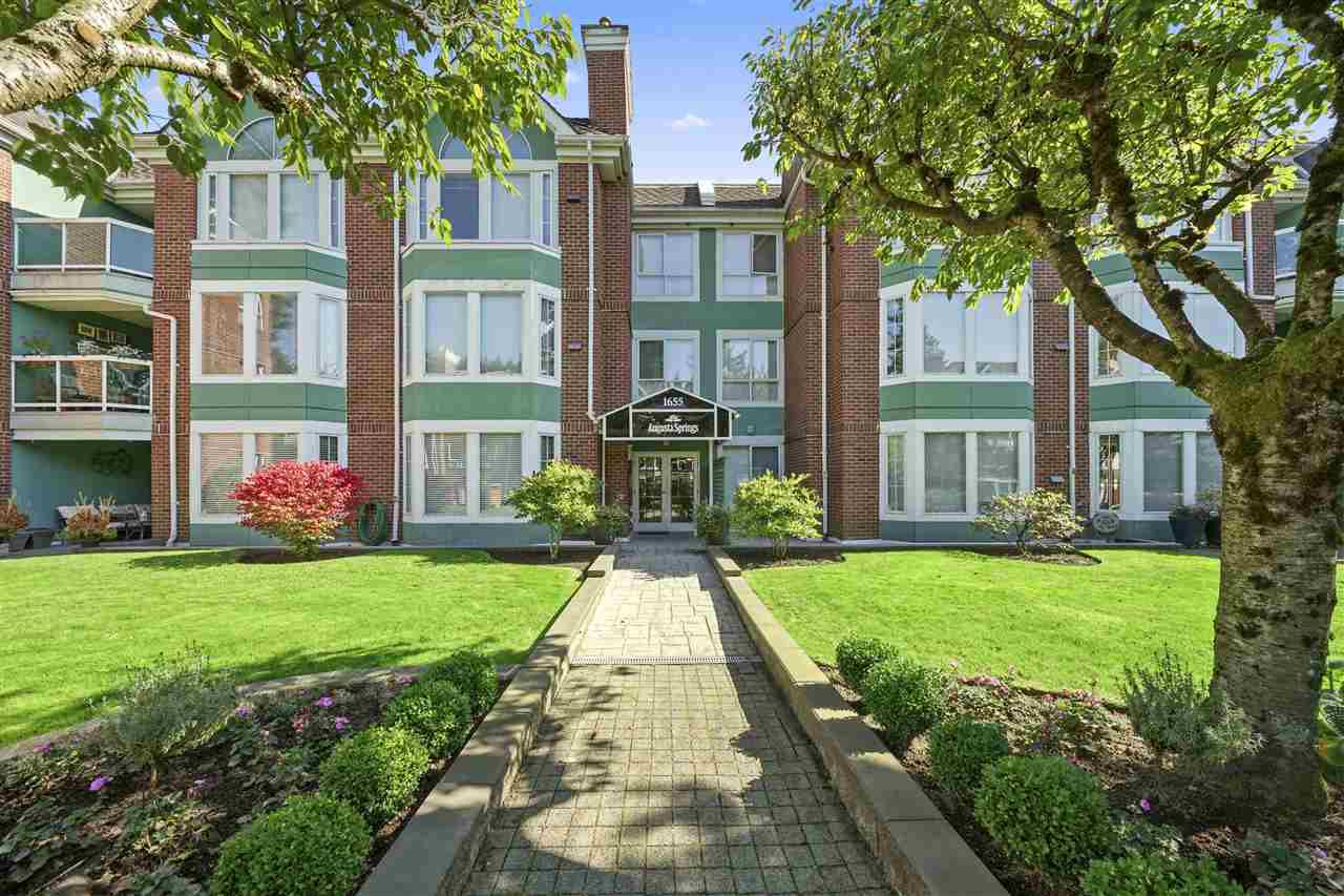 "Main Photo: 206 1655 AUGUSTA Avenue in Burnaby: Simon Fraser Univer. Condo for sale in ""AUGUSTA SPRINGS"" (Burnaby North)  : MLS®# R2409094"