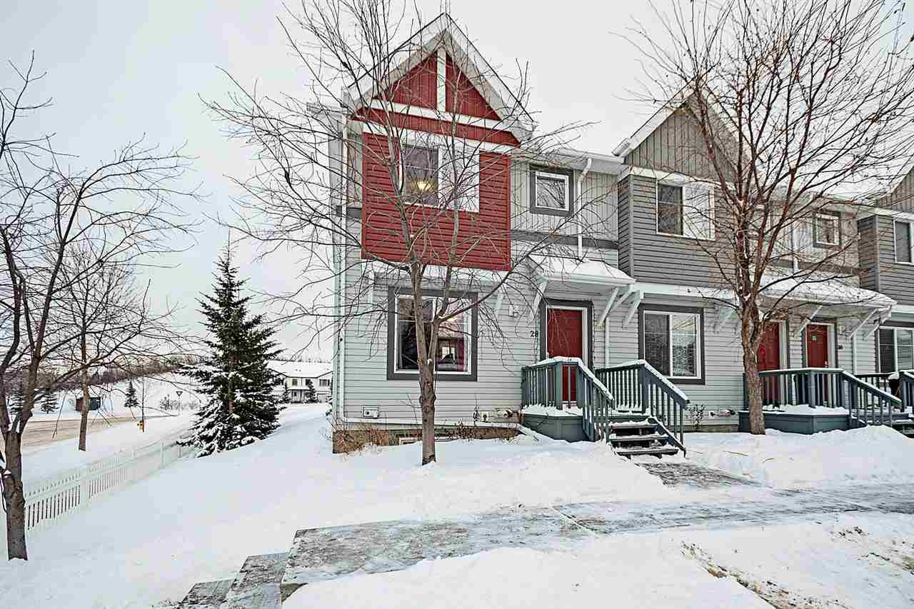 Main Photo: 28 1404 HERMITAGE Road in Edmonton: Zone 35 Townhouse for sale : MLS®# E4185313