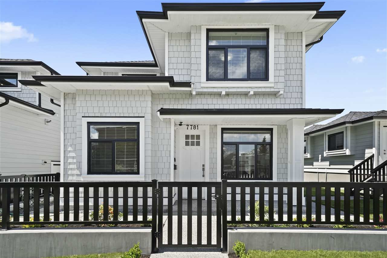 "Main Photo: 7883 CURRAGH Avenue in Burnaby: South Slope House 1/2 Duplex for sale in ""SOUTH SLOPE"" (Burnaby South)  : MLS®# R2456938"
