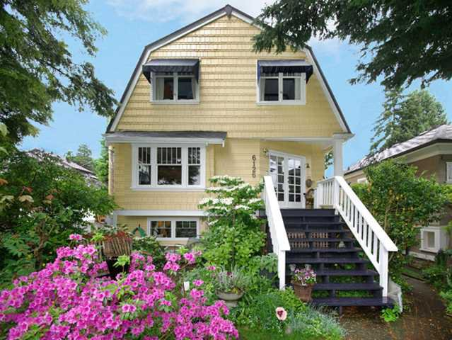 Main Photo: 6126 VINE Street in Vancouver: Kerrisdale House for sale (Vancouver West)  : MLS®# V892675