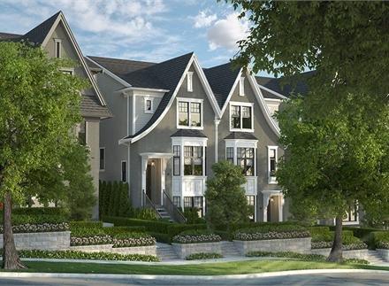 Main Photo: 1 3443 Roxton Avenue in Coquitlam: Burke Mountain House Duplex for sale