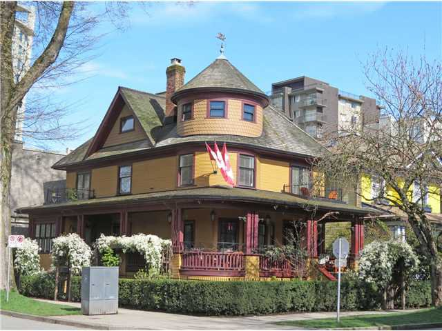 """Main Photo: 995 BUTE Street in Vancouver: West End VW House Fourplex for sale in """"The Rand House"""" (Vancouver West)  : MLS®# V1057016"""