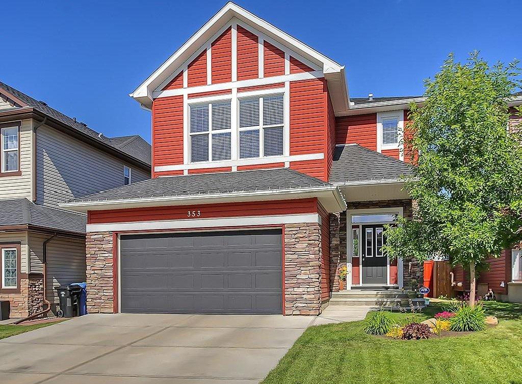 Main Photo: 353 SILVERADO Boulevard SW in Calgary: Silverado House for sale : MLS®# C4125629