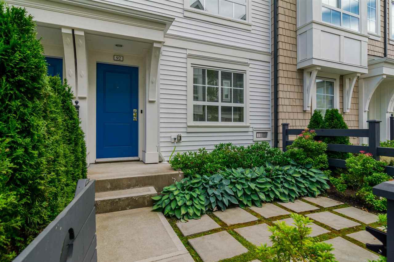 "Main Photo: 92 8438 207A Street in Langley: Willoughby Heights Townhouse for sale in ""YORK By Mosaic"" : MLS®# R2191419"