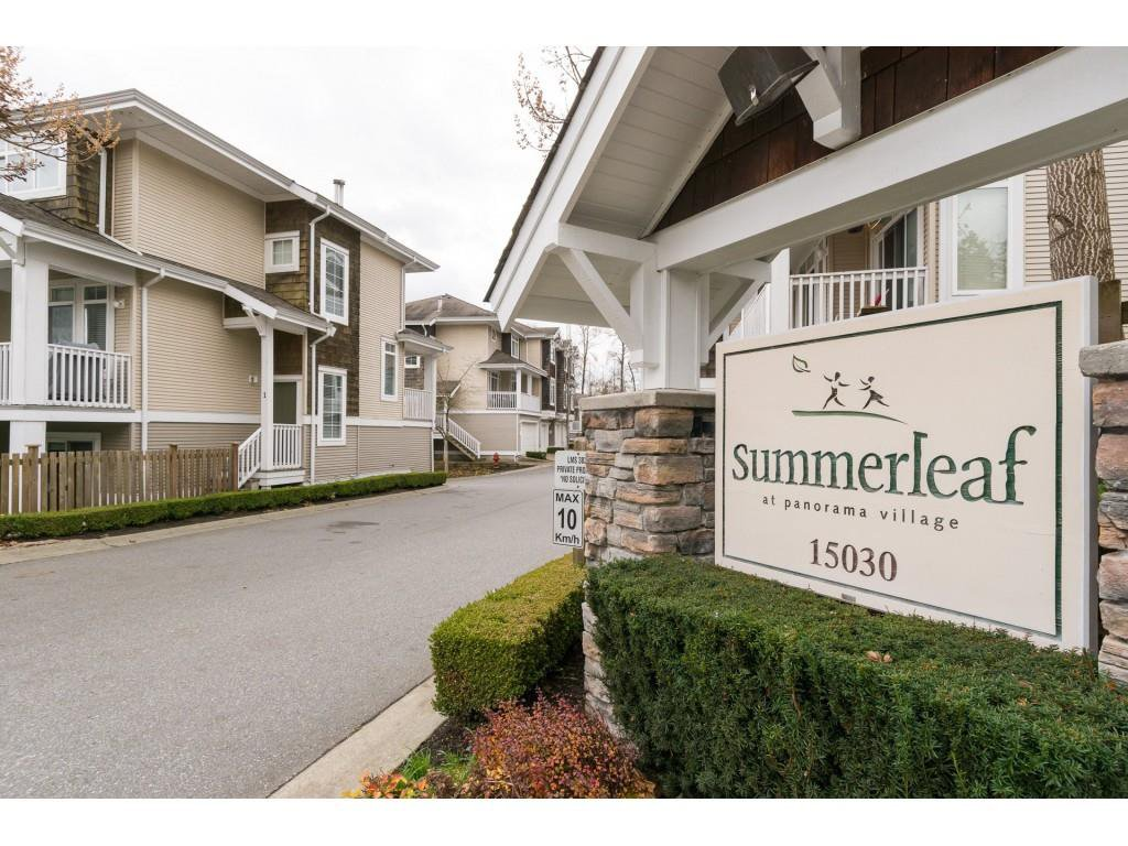 "Main Photo: 68 15030 58 Avenue in Surrey: Sullivan Station Townhouse for sale in ""Summerleaf"" : MLS®# R2222019"